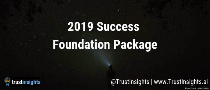 2019 Success Foundation Package for Marketers